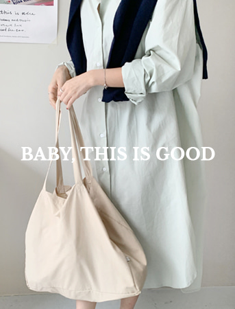 BABY,THIS IS. 트래블러 백 (SUPPLEX) (BEIGE)